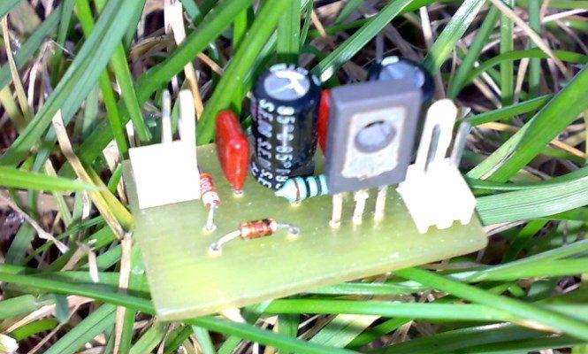 Самый простой блок питания на 1 транзисторе