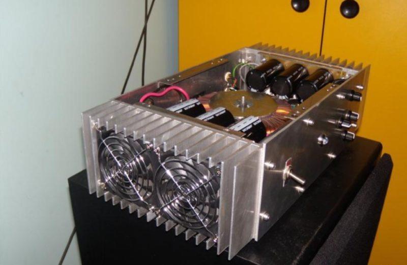 Усилитель на полевых N-канальных транзисторах