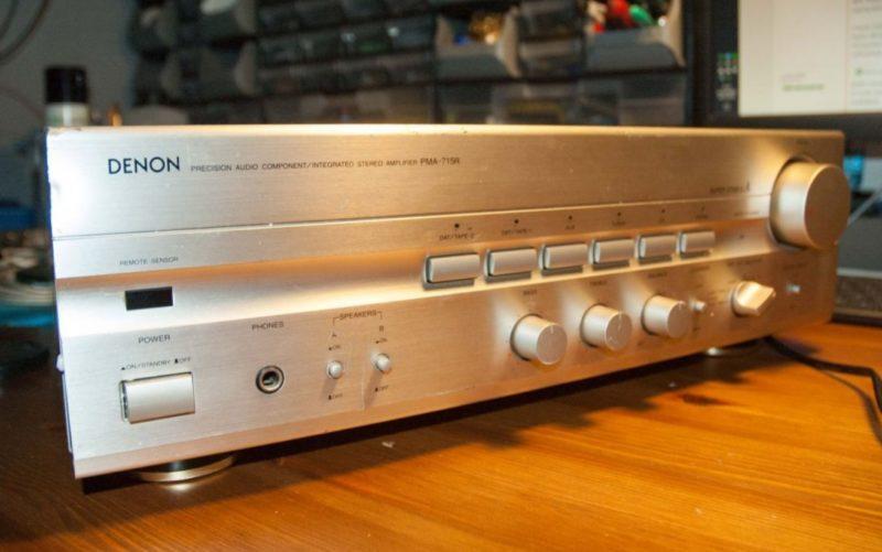Вторая жизнь старого фирменного аудио-усилителя